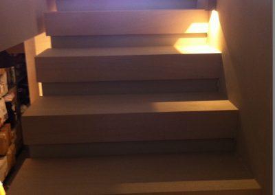 Επένδυσξ ξύλινης σκάλας στο Πανόραμα Θεσσαλονίκης (3)