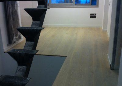 Ημιμασίφ πλώτο ξύλινο δάπεδο σε κατοικία στο Βόλο (4)
