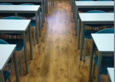 Συνθετικό πάτωμα laminate στο ιεκ ΑΚΜΗ (3)