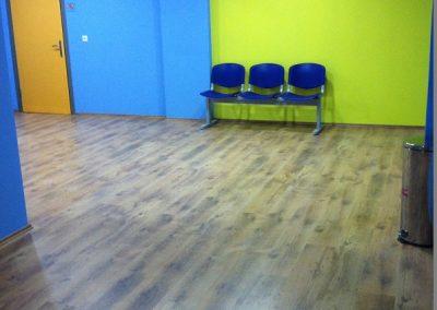 Συνθετικό πάτωμα laminate στο ιεκ ΑΚΜΗ